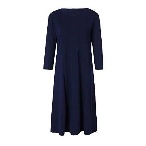 TOTOD Dress Clearance, Womens Casual 3/4 Sleeve Loose Dresses -Ladies Evening Long Maxi Dress Multi-Color Multi-Code]()