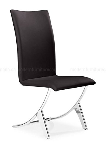 Zuo Delfin Parsons Chair [Set of 2] Upholstery: (Delfin Dining Chair)