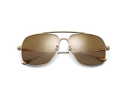NHDZ Titanio Nuevo Gafas De Sol Polarizadas Gafas De Espejo Del Cráneo Del Hombre  Hombre De c948971b6c28