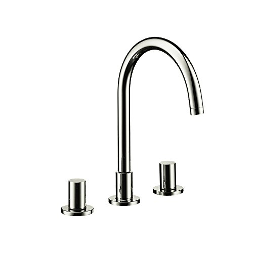 Hansgrohe 10135821 Axor Starck Widespread Faucet, Brushed Nickel