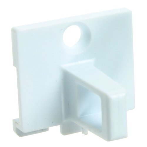 First4spares Porta Blocco Catch Plastica Gancio per Indesit Asciugatrici (Bianco) QUADT101