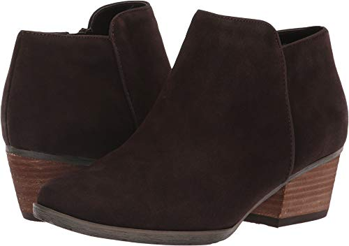 Blondo Women's Villa Waterproof Bootie Brown Suede 7 M US