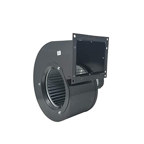 Capacitor 3.3 Split (Rectangular Permanent Split Capacitor 3.3 Inch Blower w/Exhaust Mount   2 Speed 500/325 CFM   1625 RPM 115VAC 60Hz)
