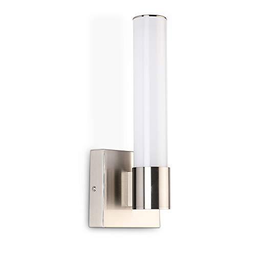 JoosenHouse 17006W LED Vanity Lights in Bathroom - Vertical Brushed Nickel Wall -