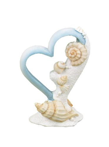 Hortense B. Hewitt Wedding Accessories Seaside Jewels Cake Top, 6-Inch -