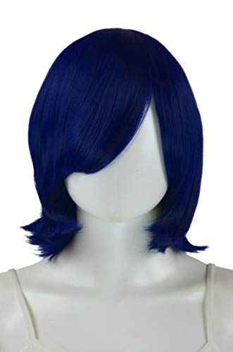 Epic Cosplay Chronos Midnight Blue Cosplay Wig 14 Inches (02MNB)]()