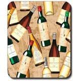 Wine Bottles Mouse Pad 9*7.5inch