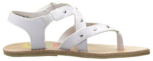 Pictures of Rachel Shoes Girls' Lil Panama Sandal White 3