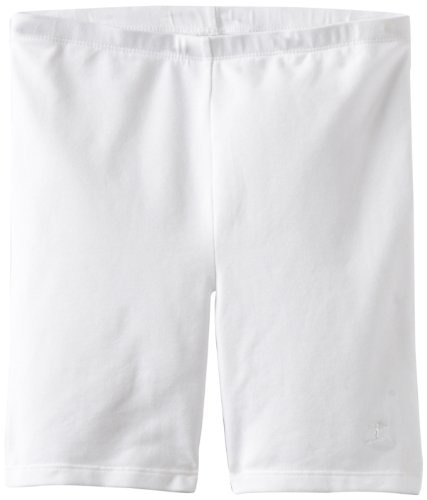 - Danskin Big Girls' Bike Short, White, Large (12-14)