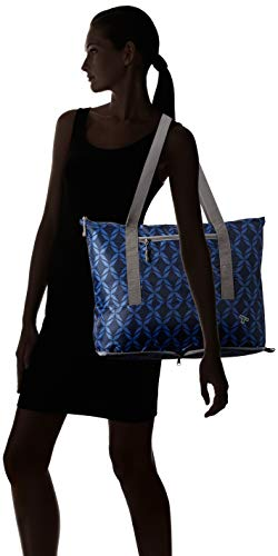314OsR6mEML - Travelon Folding Packable Tote Sling, Rope Weave, One Size