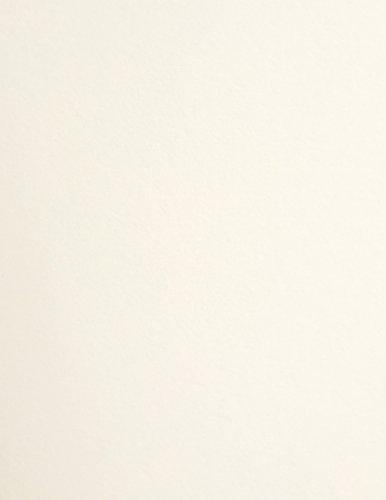 """WHIP CREAM Cardstock - 8.5"""" x 11"""" - PREMIUM 65 lb. COVER - 5"""