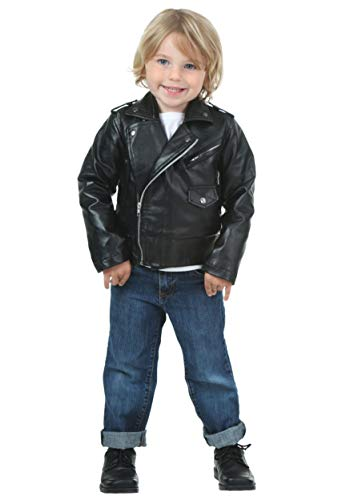 Toddler Authentic T-Birds Costume Jacket 4T Black -