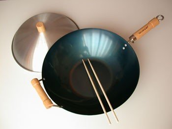 Taylor & Ng Natural Nonstick Woks 12153 Set, 14