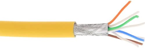 5x CAT 6a flessibile Cavo Di Rete U//FTP; Cat 6a-0100 FLEX U//FTP PIMF BLU 1m