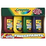 Washable Fingerpaints 4 Oz: 4 Colors