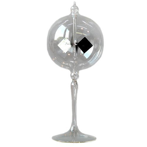Radiometer Solar Crookes Lightmill Clear Sphere 3.9 inch 100 mm by LUPI Solar Radiometer and much more by LUPI Solar Radiometer and much more