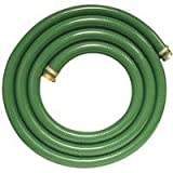 """Apache 98128010 1-1/2"""" x 20' PVC Style G (Green) Suction Hose  with Aluminum Pin Lug Fittings"""