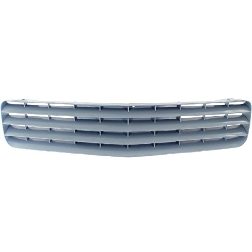 New Grille For 1987-1992 Chevrolet Camaro Standard And Rs Models, Primed Grey GM1200323 14076058