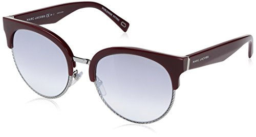 Marc-Jacobs-Womens-Marc170s-Round-Sunglasses-Ople-BurgundyGray-MS-Silver-54-mm