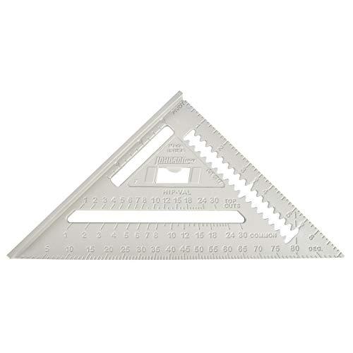 Johnson Level & Tool RAS-1 7-Inch Aluminum Rafter Angle Square w/Manual (Renewed)