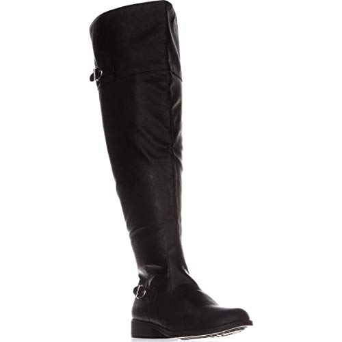 Price comparison product image American Rag Womens Adarra Closed Toe Knee High Fashion,  Black Smooth,  Size 7.5