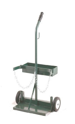 (Harper Trucks Twin Cylinder Welding Cart with Tool Box and 6