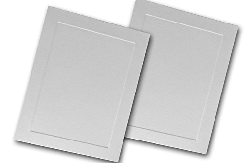 Leader Opaque White LEE 5x7 Panel Cards - 250 Pk