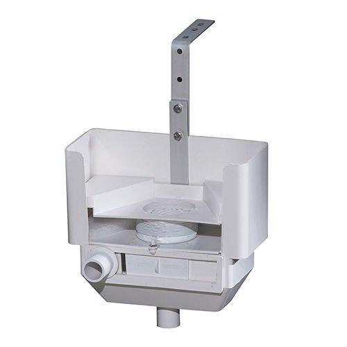- Lomart Industries 5-4006-006 Over Wall Skimmer, White
