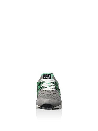 Asics Herren Gel-Kayano Trainer Sneaker, Hellgrau/Schwarz, 42 EU