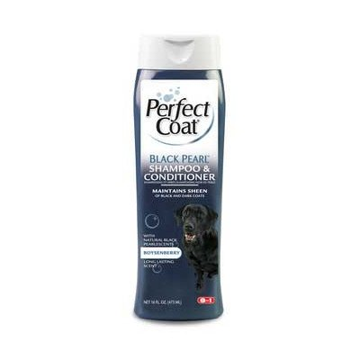 8 in 1 Pet Products Perfect Coat Black Pearl Shampoo (Set of 2)