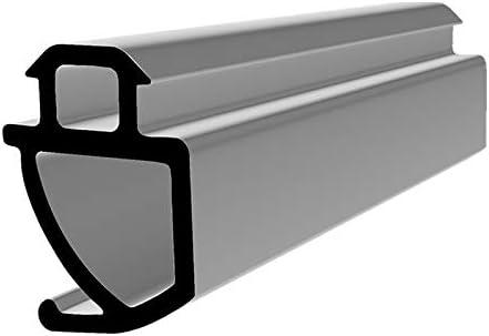 Fensterdichtung S-1560 schwarz 35m Gummidichtung T/ür Balkon Dichtungsband Oberlicht Scheibe Luftzugstopper