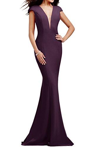 Missdressy - Vestido - Estuche - para mujer Uva