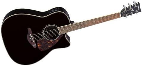 Yamaha fgx730sc negro Acústica Eléctrica Guitarra Electroacústica