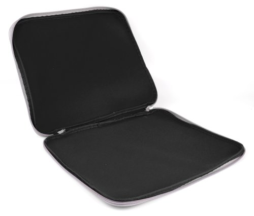 Splash Resistant Black Neoprene Laptop Case For Alienware M18x 18.4