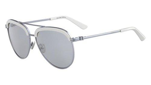 Sunglasses CALVIN KLEIN CK 8048 S 045 SHINY NICKEL by Calvin Klein