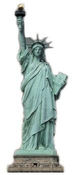 Advanced Graphics Statue of Liberty - Americana Seven Foot Cardboard Cutout 5050053399359 Collectables Other