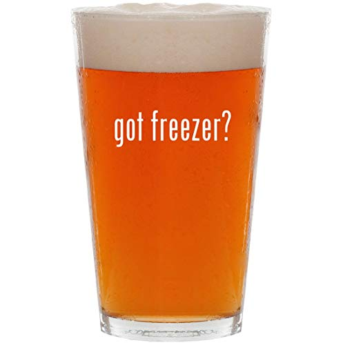 got freezer? - 16oz Pint Beer Glass