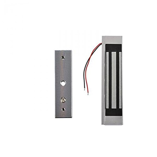 MonkeyJack 12V Gate Access Control Single Door Electromagnetic Lock 180KG(300LB) Holding Force ()