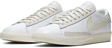 Nike Blazer Low Leather White/Sail Chaussures pour homme