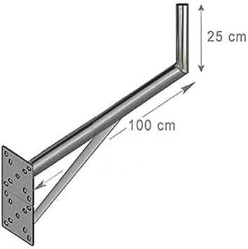 Fijación de pared L antena y parabólica 25 x 100 cm – Deporte ...