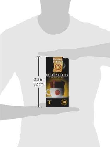 Douwe Egberts Arabica Blend One Cup Filters Pack Of 4