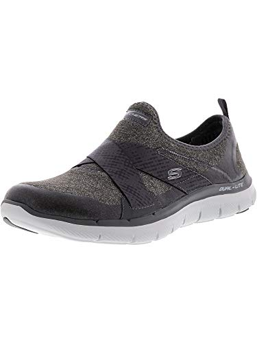 Appeal Mujer Skechers Para bright 0 Eyed 2 Charcoal Entrenadores Flex 55x8wWO