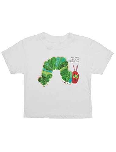 Eric Carle Merchandise - Out of Print World of Eric Carle, The Very Hungry Caterpillar Kid's T-Shirt 4/5 Year