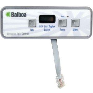 Balboa Topside, Lite Duplex Digital, LCD (VL401), (Lcd Spa)