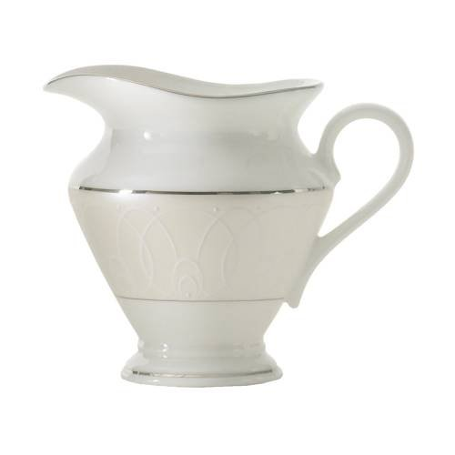 Waterford China Ballet Icing Pearl CREAMER, 8 OZ - China Pearl China Creamer