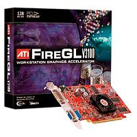 - ATI Technologies 100-505082 FireGL V3100 128MB DDR SDRAM PCI Express x16 Graphics Card