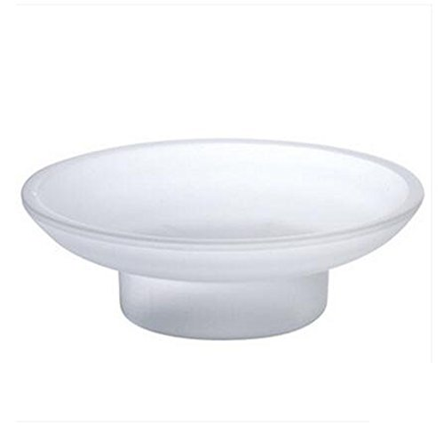 Frosted Glass Dish (qinisi Bathroom Replacement Frosted Glass Soap Dish Cup Euro Style Soap Holder Cup)