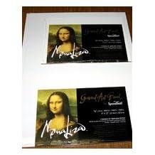 Mona Lisa Gessoed Art Board 9X12
