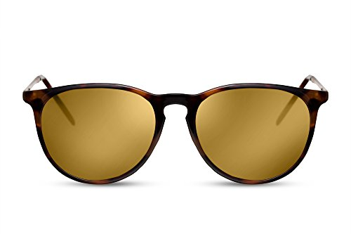 Femmes Hommes 008 Cheapass Rondes Noir Brun Sunglasses Leo Rétro Ca Lunettes qwqp0FS4