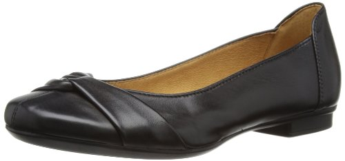 Gabor Womens Ballerina Pumps Nero